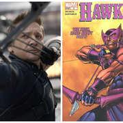 "4. Hawkeye – ""Thor"", ""The Avengers"", ""The Avengers: Czas Ultrona"", ""Kapitan Ameryka: Wojna Bohaterów"" – 2011 – 2016"