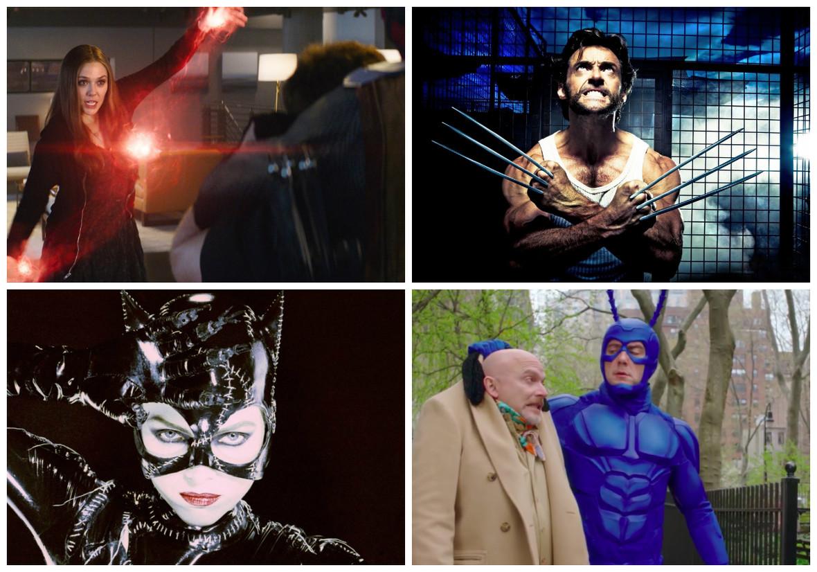 10 filmowych superbohaterów, którzy wyglądają zupełnie inaczej niż w komiksach