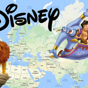 10 miejsc z bajek Disneya, które istnieją naprawdę
