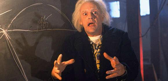 Doktor Brown (Christopher Lloyd)