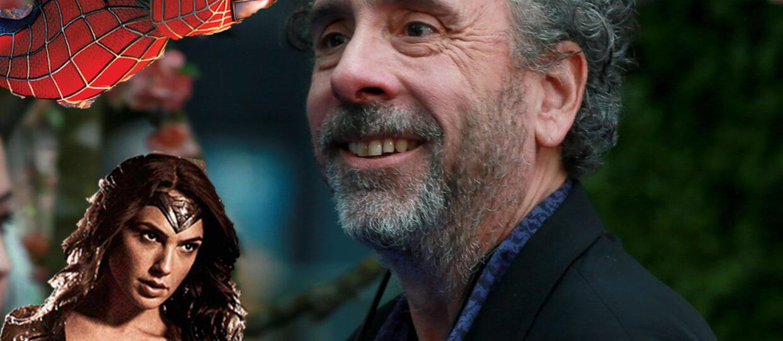 A gdyby Tim Burton przejął uniwersum Marvela i DC?