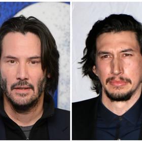 Adam Driver jest klonem Keanu Reevesa. Dowiodła tego aplikacja do zamiany twarzy