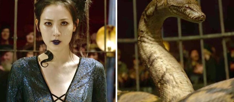 """Aktorka, która wcieliła się w Nagini, komentuje oskarżenia o rasizm filmu """"Fantastyczne zwierzęta 2"""""""