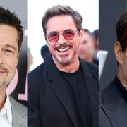 Brad Pitt, Robert Downey Jr., Tom Cruise