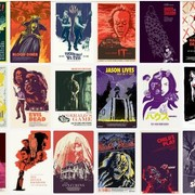 Artysta stworzył plakaty horrorów na każdy dzień października