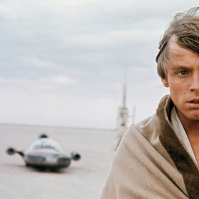 Luke Skywalker na Tatooine