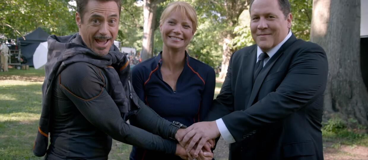 Pepper Potts, Tony Stark i Happy