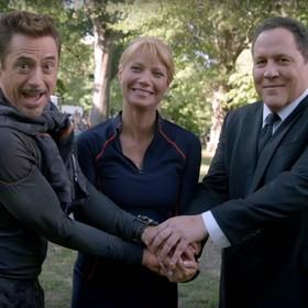 Pepper Potts, Tony Stark i Happy