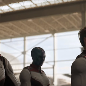 kadr z filmu Avengers: Endgame