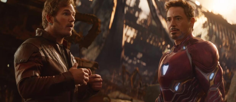 Star-Lord i Iron Man