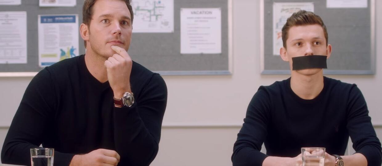 Chris Pratt, Tom Holland