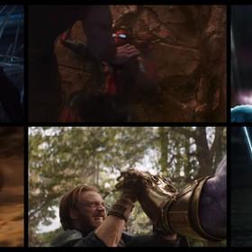 Avengers Infinity War śmierci