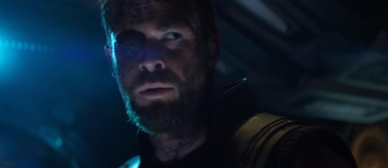"""Chris Hemsworth wyjawił, że opaska na oku Thora w """"Avengers: Infinity War"""" nie jest prawdziwa"""