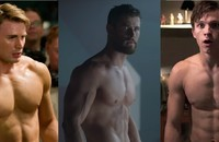 Chris Evans, Chris Hemsworth, Tom Holland