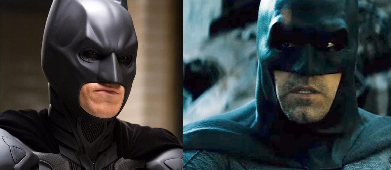 Batman Christiana Bale'a kontra Batman Bena Afflecka