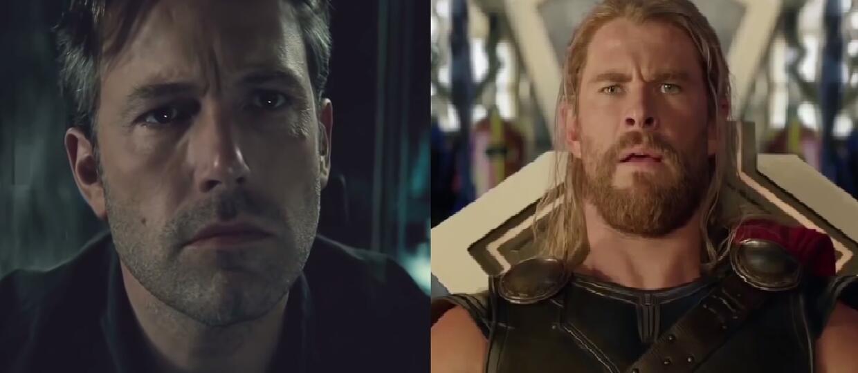 "Batman i Wonder Woman reagują na zwiastun filmu ""Thor: Ragnarok"""