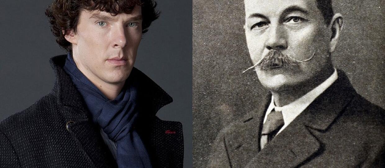 Benedict Cumberbatch jest spokrewniony z Arthurem Conanem Doylem