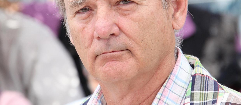Bill Murray zrzucił z dachu telefony fanów