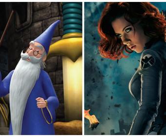 Black Widow i Merlin