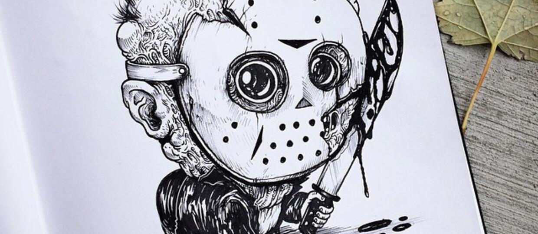 Bohaterowie horrorów jako dzieci