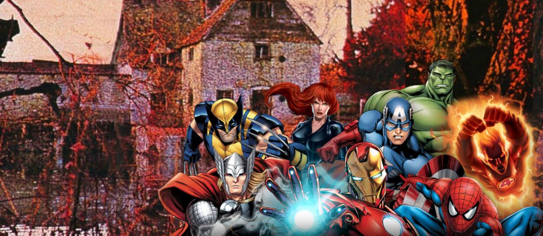 Bohaterowie Marvela na okładkach rockowych płyt