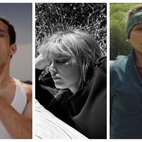 kadry z filmów Bohemian Rhapsody, Zimna Wojna, Trzy Billboardy za Ebbing, Missouri