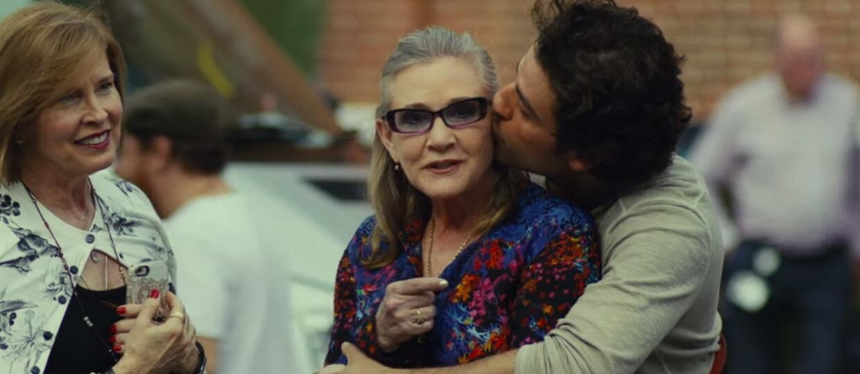 """Carrie Fisher była autorką najbardziej wzruszających scen w """"Ostatnich Jedi"""""""