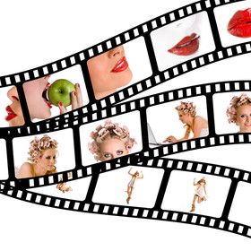 kobiety - taśma filmowa
