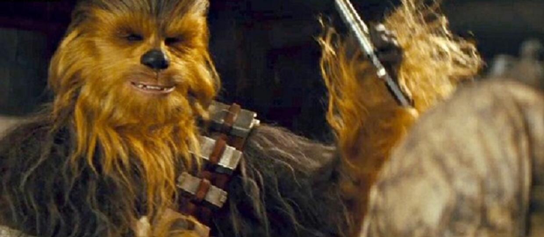 """Chewbacca w usuniętej scenie z """"Przebudzenia Mocy"""""""