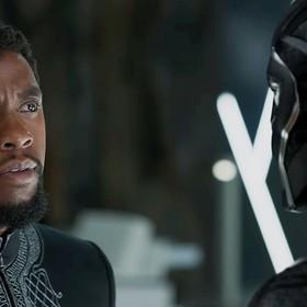Chadwick Boseman jako Czarna Pantera