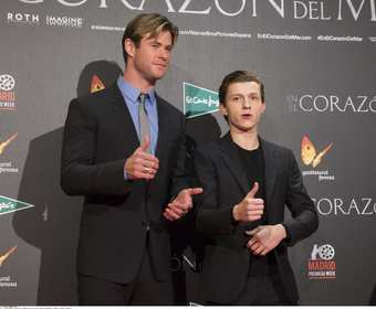 Tom Holland i Chris Hemsworth