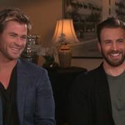 Chris Evans i Chris Hemsworth