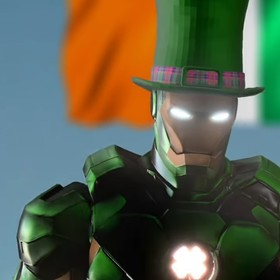 "Foto: kadr z wideo ""Marvel Meets The Irishman"""