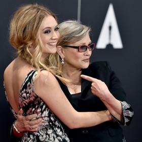 Billie Lourd, Carrie Fisher