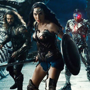 Aquaman, Wonder Woman i Cyborg