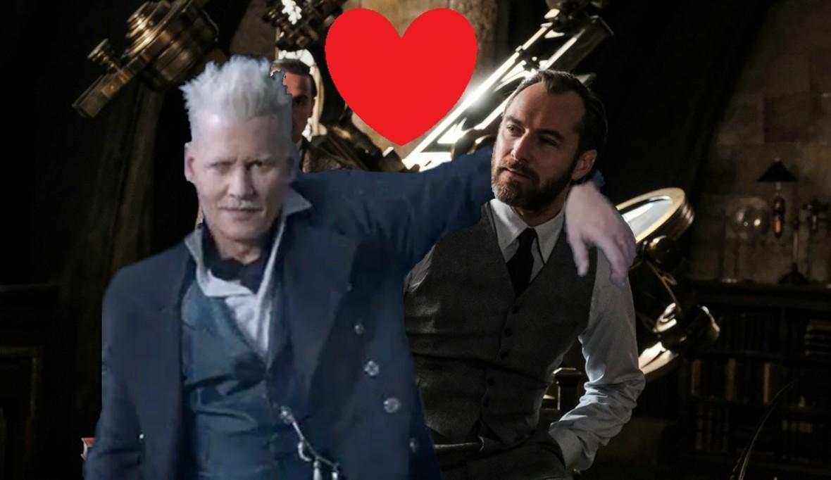 """Czy Dumbledore i Grindelwald będą mieli romans w sequelu """"Fantastycznych zwierząt""""?"""