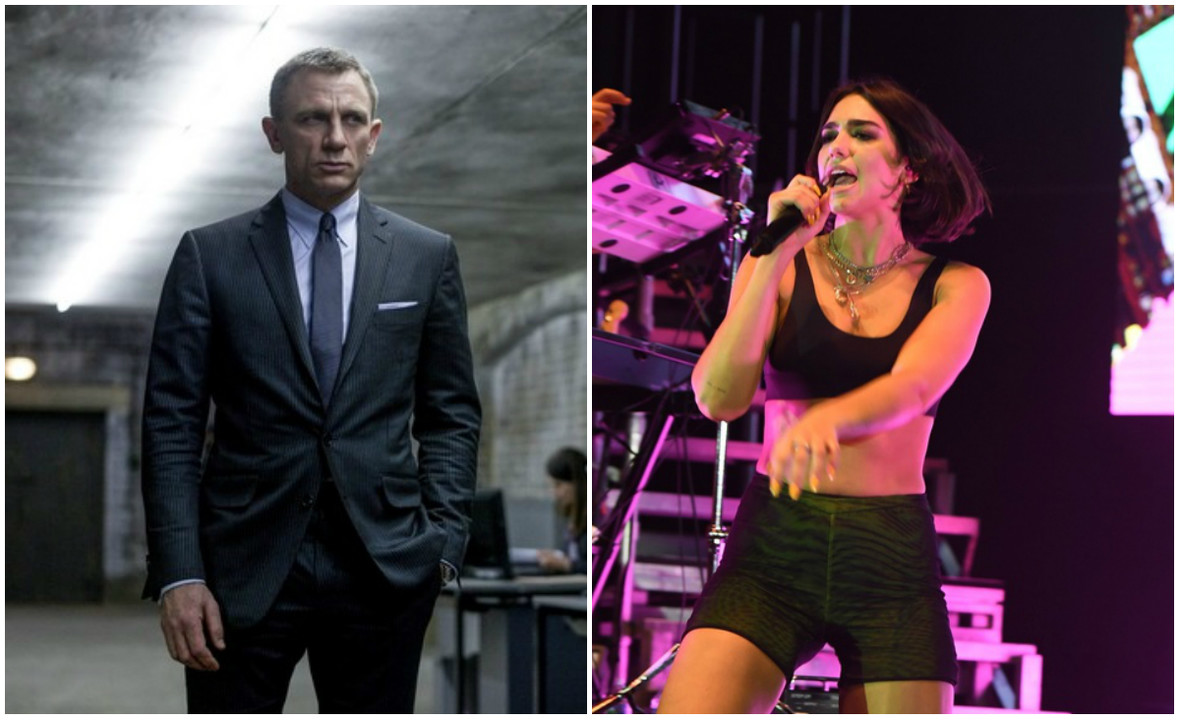 James Bond (Daniel Craig) i Dua Lipa