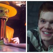 kadry z filmu Maska i serialu Gotham
