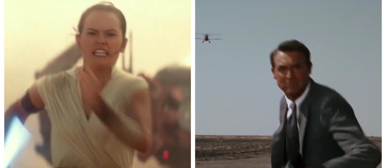 Star Wars Episode 9 and North by Northwest Parallels