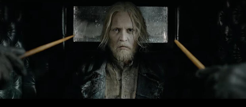 Johnny Depp jako Gellert Grindelwald