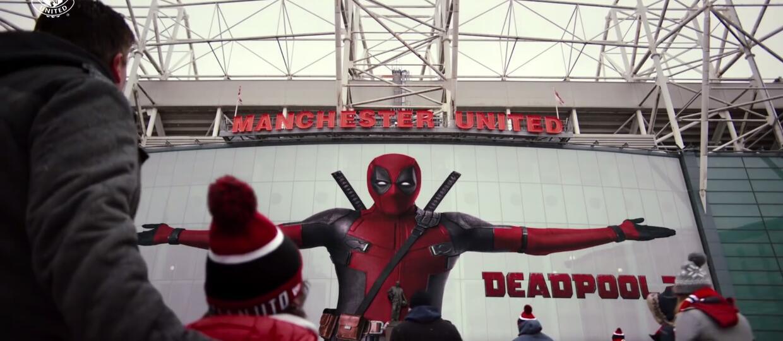 """Deadpool przejmuje Manchester United w nowym wideo promującym film """"Deadpool 2"""""""