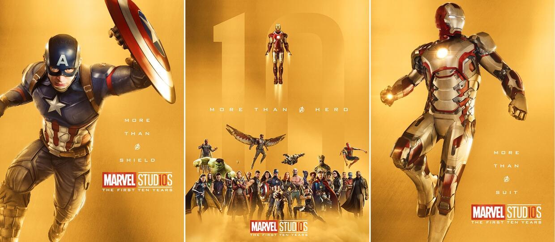 plakaty More than a hero - 10 lat mcu