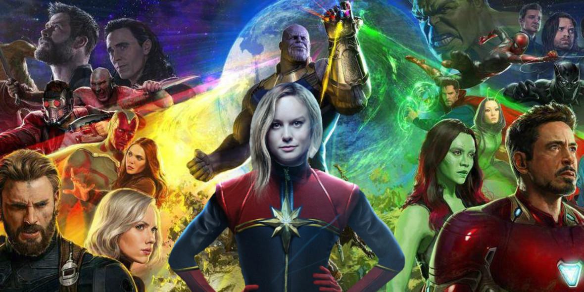 Captain Marvel w Avengers: Infinity War