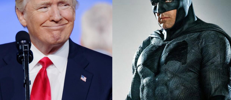 Donald Trump od początku wiedział, że Ben Affleck da radę jako Batman