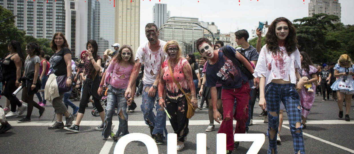 Dopasuj zombie do filmu [QUIZ]