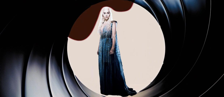 Emilia Clarke chce być nowym Jamesem Bondem