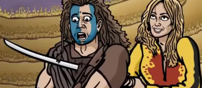 Epicka walka na śmierć i życie największych ikon kina w niesamowitym wideo
