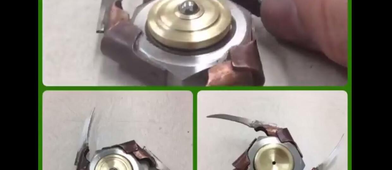 Fidget spinner inspirowany Freddym Kruegerem
