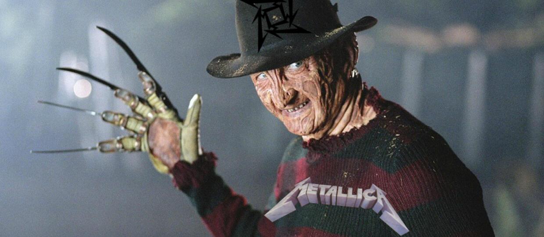 Freddy Krueger zawitał na koszulki Metalliki