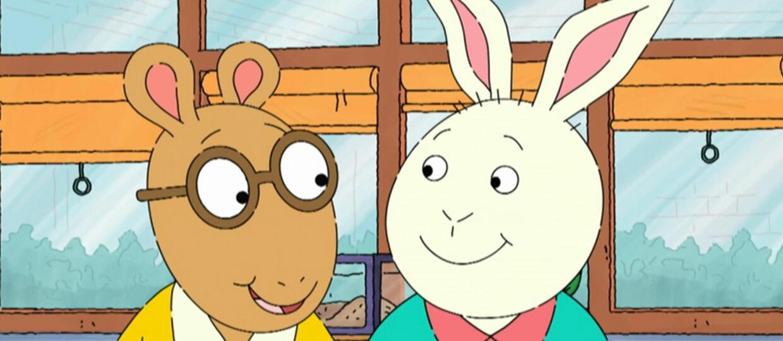 kadr z serialu Artur